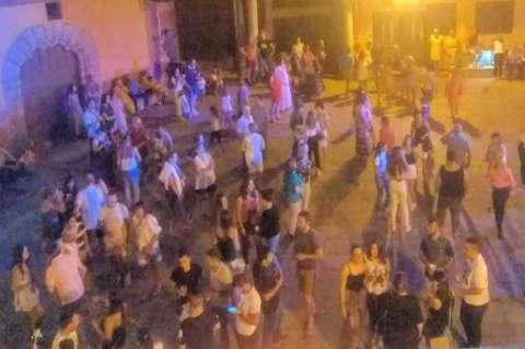 Batalla del vino en sotoserrano. Imagen Sotoserrano Digital