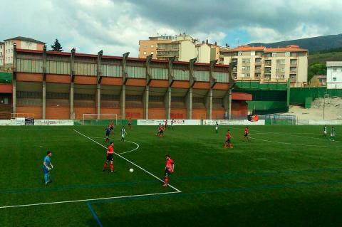 Encuentro entre el CD Béjar Industrial y el Betis CF de la pasada temporada