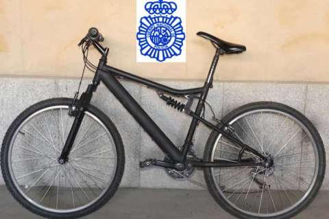 Bicicleta incautada
