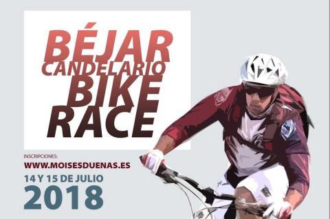 Cartel Béjar Candelario Bike Race