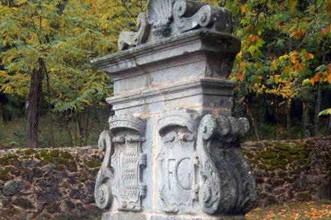 El Bosque de Béjar, detalle de fuente