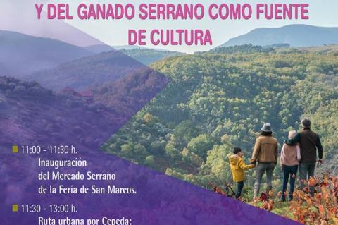 Cartel anunciador actividades en Cepeda