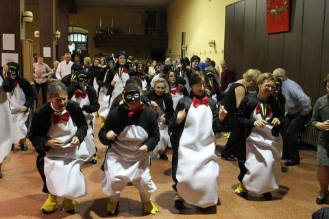 Baile de Carnaval Casino Obrero - ARCHIVO