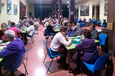 Inicio del torneo de Chinchón Femenino 2019 en el Casino Obrero