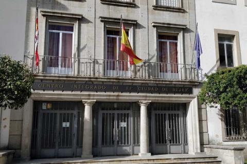 Edificio que alberga la Escuela Oficial de Idiomas en Béjar