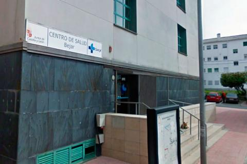 Accesos al centro de salud de Béjar