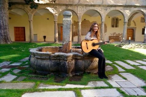 Rebeca Gea en en Centro de Cultura San Francisco
