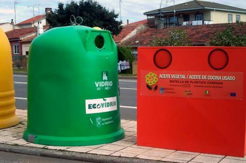 Contenedores de recogida de residuos