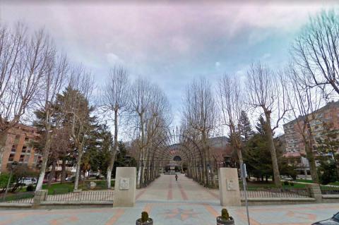 Entrada del Parque Municipal