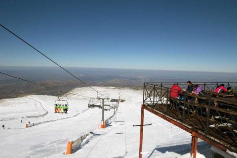 Estación de esquí Sierra de Béjar - La Covatilla