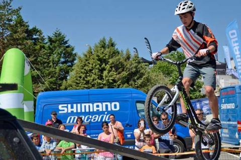 Dani Heras en el Campeonato de España de Trial 2015 celebrado en Torredembarra (Tarragona),