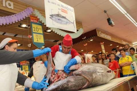 Ronqueo de atún rojo en DIA