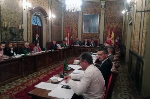 Pleno de la Diputación de Salamanca celebrado este viernes