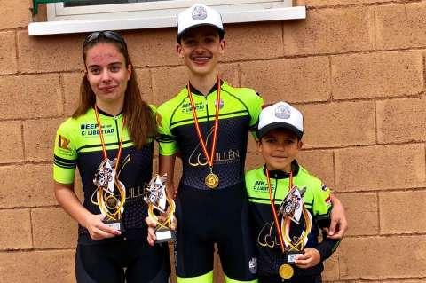 Natalia Ovejero, David Martín y Rodrigo Hernández