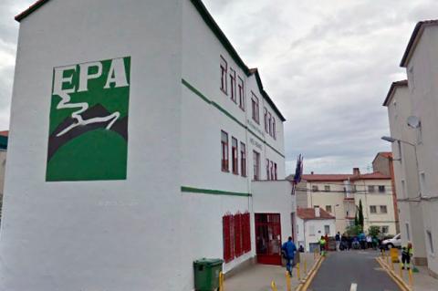 Edificio del centro de educación de personas adultas