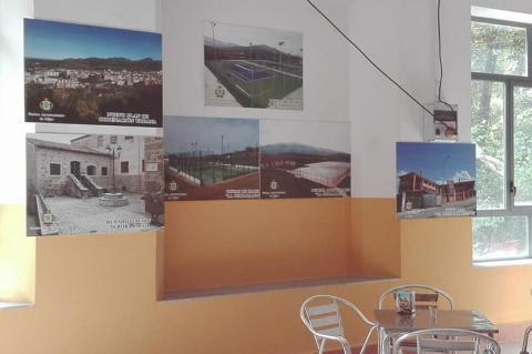Exposición fotográfica en el recinto ferial
