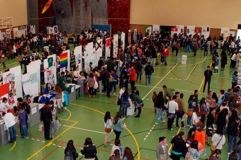 Feria de Bienvenida en el pabellón Sierra de Francia