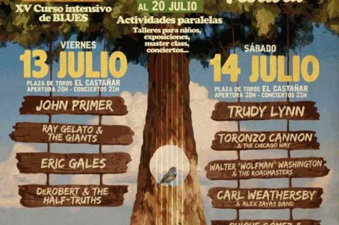 Cartel XIX Festival de Blues