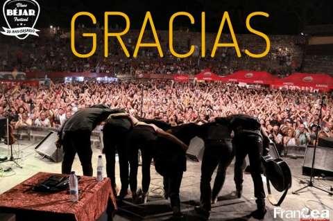 Imagen con la que los organizadores han dado las gracias en sus redes sociales