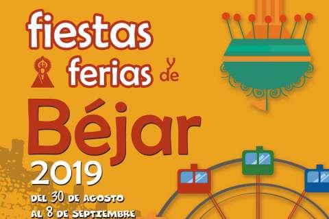 Cartel de las Fiestas y Ferias de Béjar 2019