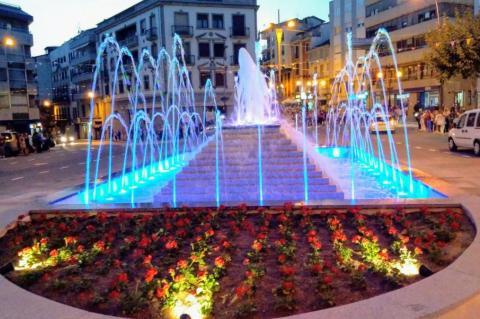 La fuente de la Corredera es una de las obras destacadas por el alcalde