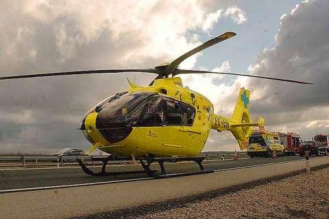 Helicóptero medicalizado del Sacyl
