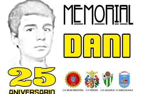 Cartel anunciador del 25 Memorial Dani