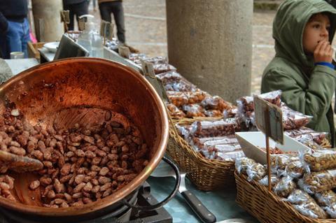 Mercado Serrano en la Sierra de Francia
