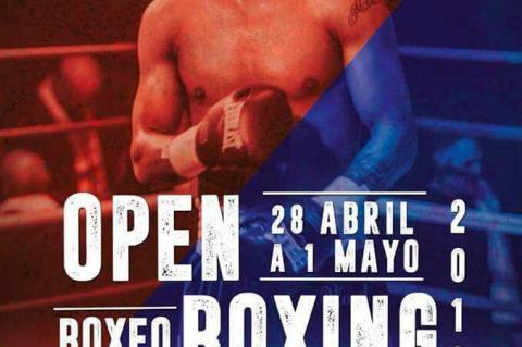 Cartel Open Boxing Béjar