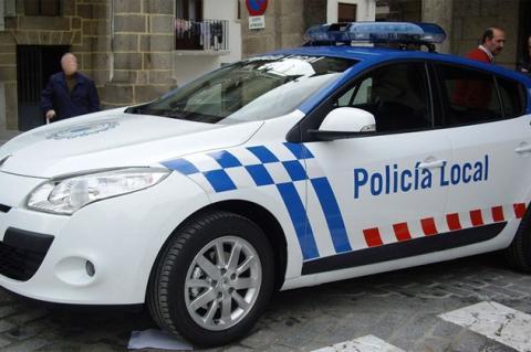 Vehículo de la Policía local de Béjar