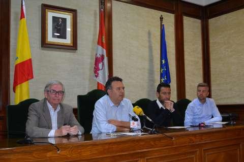 Presentación Campus de Fútbol Real Valladolid en Béjar