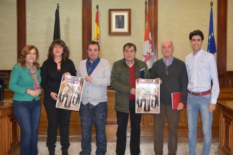 Presentación en el Ayuntamiento de los actos religiosos de la Semana Santa