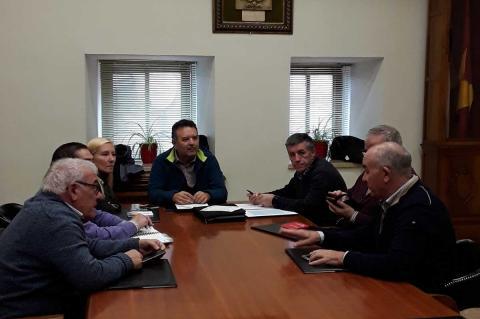 Reunión preparatoria gala a beneficio de San Jose Artesano