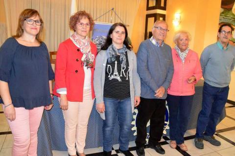 Representantes asociaciones  de Béjar beneficiarias