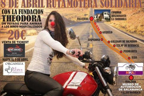 Cartel Ruta Motera Solidaria