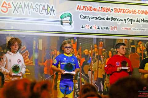Sergio Sánchez Podium Xamascada 2019