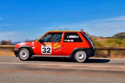 Un Renault 5 participante de la XX Edición de la Subida Charra