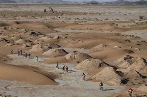 Momento de la cuarta etapa de la Titan Desert