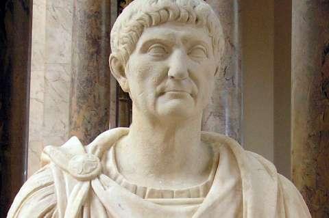 Busto de Marco Ulpio Trajano