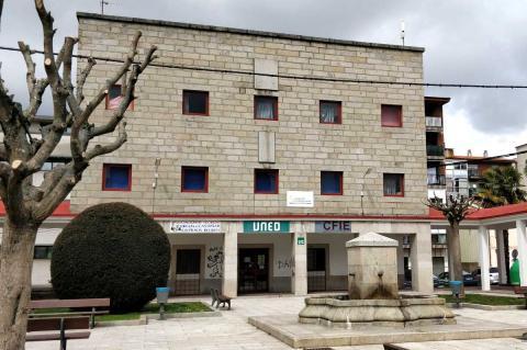 Fachada de la sede de la UNED en Béjar