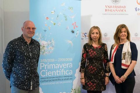 Agustín Gutiérrez, Susana Pérez y Mª del Carmen Sánchez Bellota