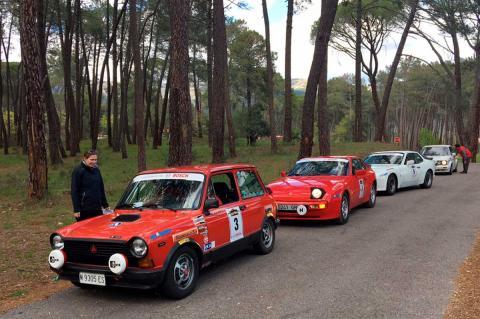 Vehículos participantes en la I Spain Classic Rally