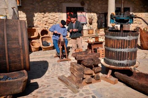 Fiesta de la vendimia en San Martín del Castañar