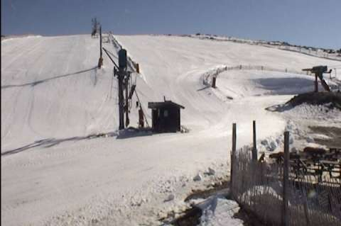 Imagen de la webcam de La Covatilla facilitada por CxByC