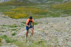 Un momento de la carrera 24 horas La Covatilla