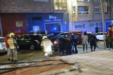 Accidente en Calle Ramiro Arroyo Recreo