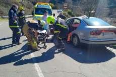 Accidente en la Bajada de San Albín