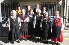 Celebración de Las Águedas en el centro de Día de personas Mayores de Béjar