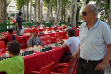 Instante del Torneo de Ajedrez