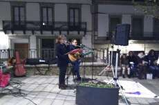 Acto de AMDEVE contra la violencia Machista en la Plaza de la Piedad de Béjar